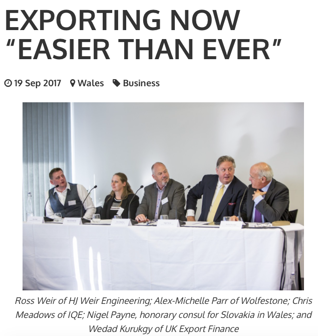 International-Trade-Breakfast-Welsh-Business-HJ-Weir-Engineering-Exporting-With-Excellence